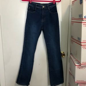 Express Stretch Fit & Flare Jeans
